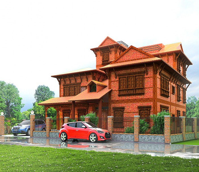 Newari Architecture Nepali Residential Building